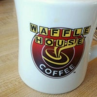 Photo taken at Waffle House by Fondie on 2/12/2012
