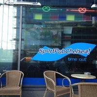 Photo taken at Sport Pub Chelsea by Harri T. on 5/14/2012