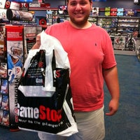 Photo taken at GameStop by Beth on 7/29/2012