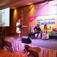 Photo taken at Sriu-thong Grand Ballroom | Sriu-thong Hotel by tle_kub t. on 2/6/2012