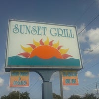 Photo taken at Sunset Grill by John D. on 7/1/2012