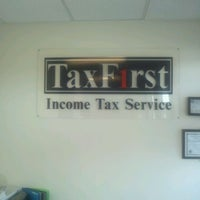 Photo taken at Tax First by Trenice A. on 2/2/2012