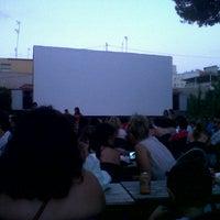 Photo taken at Cine La Esperanza by Patricia H. on 7/15/2012