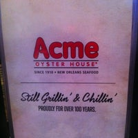 Photo taken at Acme Oyster House - Baton Rouge by Mila F. on 12/18/2011