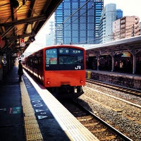 Photo taken at JR Kyobashi Station by Mizuho S. on 3/14/2012