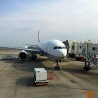 Photo taken at Okayama Airport (OKJ) by Masahiko A. on 8/9/2012