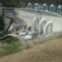 Photo taken at Smith Mountain Lake Dam by Tim S. on 9/2/2011