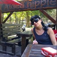 Photo taken at Aldea Hippie by Julian C. on 11/28/2011