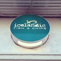Photo taken at Icelandic Fish & Chips by Blue 💣 B. on 7/17/2012