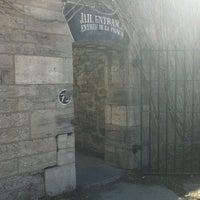 Photo taken at Hi-Ottawa Jail Hostel by Angela F. on 3/23/2012