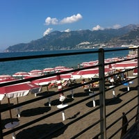 Photo taken at Lido Arcobaleno by Vincenzo D. on 8/1/2011