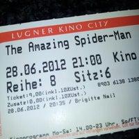 Photo taken at Lugner Kino City by Tom K. on 6/28/2012