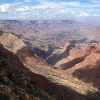Photo taken at Desert View Watchtower by Wildbars on 8/1/2012