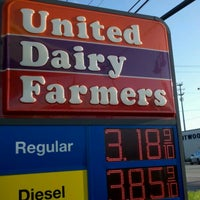 Photo taken at United Dairy Farmers (UDF) by Chris K. on 9/27/2011