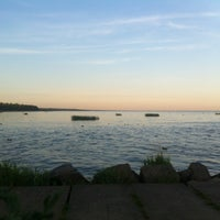 Photo taken at Пляж Черная Речка by Ирина К. on 8/3/2012