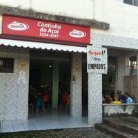 Photo taken at Cantinho do Açaí by Petterson M. on 6/8/2012