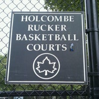 Photo taken at Rucker Park Basketball Courts by T👻🎃☠️⚰️🕸 on 5/17/2011