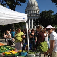 Photo taken at Dane County Farmers' Market by Ned W. on 8/11/2012