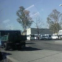 Photo taken at CETRAM Cuatro Caminos by Daen C. on 2/29/2012