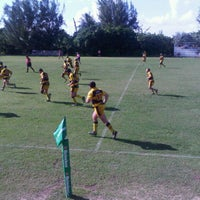 Photo taken at Cayman Islands Rugby Club by James S. on 12/10/2011