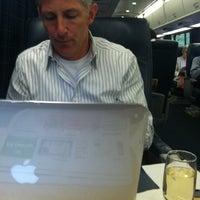 Photo taken at Acela 2193 Boston-Penn Station by Gary Vincent L. on 7/21/2011