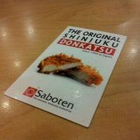 Photo taken at 사보텐 / Saboten by Hongseok K. on 2/9/2012
