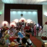 Photo taken at Dewan Serbaguna Dato' Ahmad Razali by Ben S. on 1/29/2012