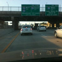 Photo taken at Dan Ryan Expressway by Christy M. on 7/9/2012