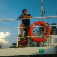 Photo taken at Muara Sungai Kapuas by Asmar F. on 11/27/2011