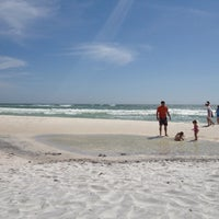 Photo taken at Seagrove Beach by Trina S. on 3/21/2012