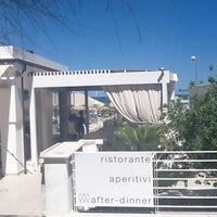 Photo taken at Spiaggia 75 by Jeroen B. on 7/21/2011