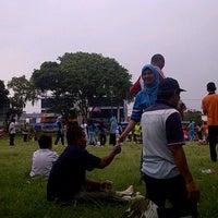 Photo taken at Lapangan Merah Enggal by ★Anggapung™ on 12/7/2011