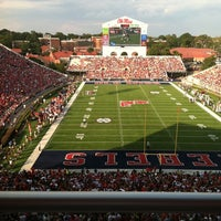 Photo taken at Vaught-Hemingway Stadium by Richard F. on 9/10/2011
