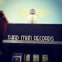 Photo taken at Third Man Records by Jon D. on 6/30/2012
