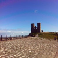 Photo taken at Reculver Towers and Roman Fort by Ray W. on 4/16/2012