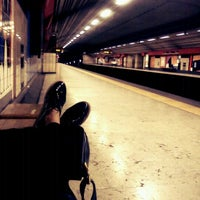 Photo taken at Metro Rato [AM] by Lu S. on 8/18/2012