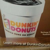 Photo taken at Dunkin' Donuts by Natasha W. on 4/23/2012