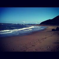 Photo taken at Praia da Penha by Niedja R. on 11/3/2011