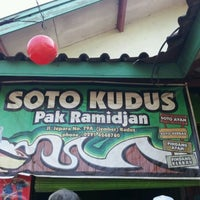Photo taken at Soto kudus Pak Ramidjan by Harman A. on 9/4/2011