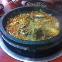 Photo taken at 통뼈감자탕 by Lisa C. on 9/27/2011