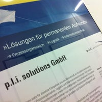 Photo taken at p.l.i. solutions GmbH by Oliver M. on 7/2/2011