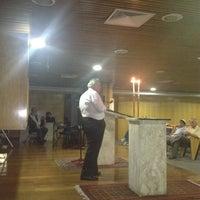 Photo taken at Sinagoga da Hebraica by Jose Luiz G. on 3/2/2012