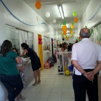 Photo taken at Colegio Alfa CEM Bilingue by Newton G. on 4/4/2012