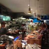 Photo taken at Pizzeria Delfina by Adrienne P. on 5/29/2012