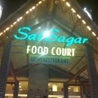 Photo taken at Sai Sagar Food Court by Anika M. on 1/25/2012