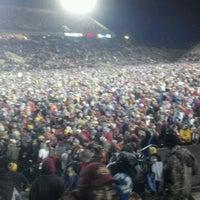 Photo taken at Jack Trice Stadium by Michael M. on 11/19/2011