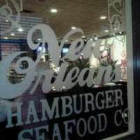 Photo taken at New Orleans Hamburger & Seafood Co. by Ronin T. on 10/23/2011