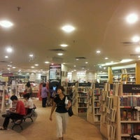 Photo taken at MPH Bookstore by Neel N. on 2/7/2012
