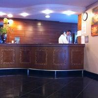 Photo taken at Hotel Del Rey Foz by Mestre W. on 9/10/2011