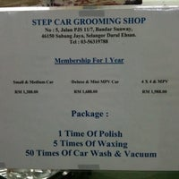 Photo taken at Step Car Grooming by Danny Y. on 12/31/2010